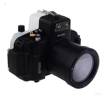 Polaroid Carcasa sumergible impermeable de cámara SLR apta ...
