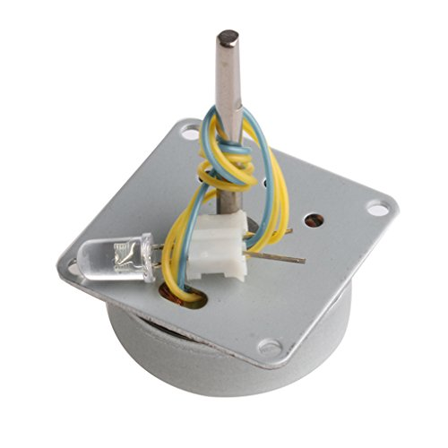 Dolity Modelo de Educación de Ciencia de Turbina de Viento de Generador Alternador Trifásico de DIY Pequeño