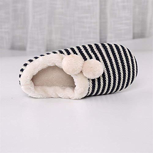 Sed Slippers Linen Linol Donna 37 25cm Pantofole Soft Da Warm 38 's wqrwHZ1