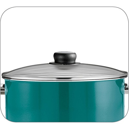 15-Piece Blue Teflon Coated Heat and Shatter Resistant Nonstick Cookware Set by Tramontina USA, Inc. (Image #5)