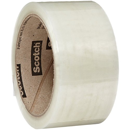 """24 Rolls 3M Brand Scotch 371 3"""" Clear Packing Tape, 3"""" x 110 Yds Per Roll supplier"""