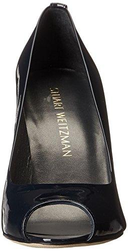 Stuart Weitzman Women's Lille Dress Pump Navy ZueYKgJJMF