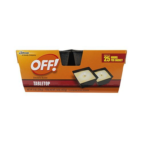 Off! Citronella Bucket Tabletop Candle, Twin Pack by OFF! by Off! (Image #1)