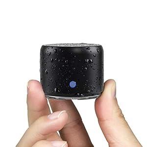 Etui De Voyage Inclus, EWA A106 Mini Enceinte Bluetooth 5.0 Portable Actif avec Basse Extra, Autonomie 12hrs, étanchéité…