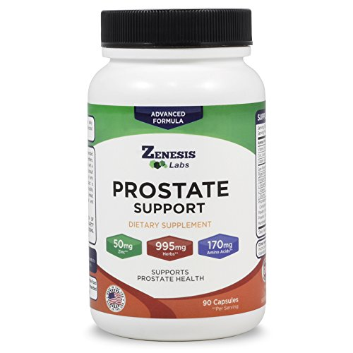 Prostate Health Supplement & Saw Palmetto - 90 Capsules - with Zinc, Copper, Pumpkin Seed, Burdock Root, Amino Acids, Other Extracts - 45 Day Supply
