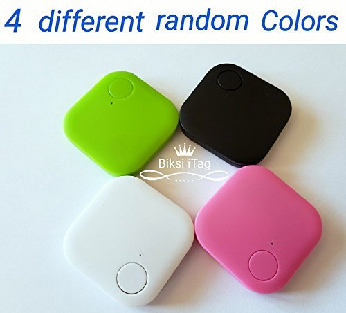 2 Pack of Biksi Bluetooth Tracker to find Key, Wallet, Bag, pet Any Thing with 2 Way communitcation