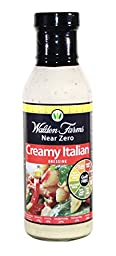 Walden Farms Creamy Italian Dressing, 12 Ounce