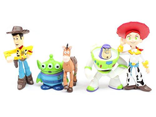 Toy Story Figures Set 5 Pcs (4cm - 7cm)