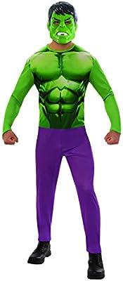 Marvel - Disfraz de Hulk para hombre, Talla XL adulto (RubieS ...