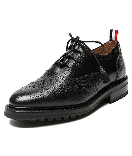wiberlux-thom-browne-mens-pebbled-real-leather-wingtip-lace-up-oxfords-us-60-eu-400-black