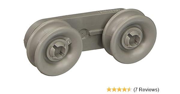 Tub OEM 8270019 2 pack 8270019 Whirlpool Dishwasher Wheel
