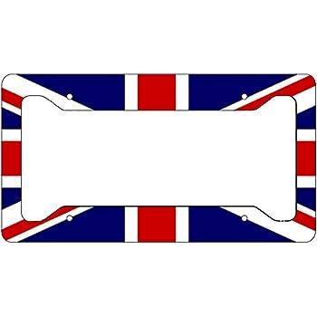 UNITED KINGDOM UK ENGLAND BLACK License Plate Frame Tag Holder