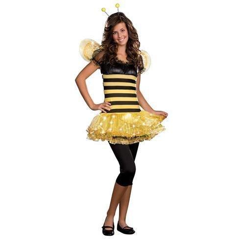 Busy Bee Halloween Costumes - Junior Busy Lil' Bee Teen/Junior Costume