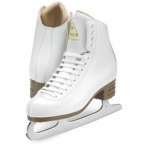 Jackson Ultima Mystique JS1490 White Womens Ice Skates, Size 8.5