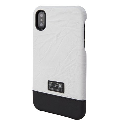 HEX - Focus Luxury Series - Beveled Edge Screen Protection, Lux Vintage Premium Leather, Polycarbonate Protective Case, for iPhone X/Xs