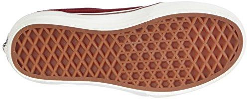 Vans K 106 VULCANIZED Unisex-Kinder Sneakers Rot ((Vintage) windsor wine/blanc)