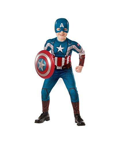Captain America Costume Patriotic Superhero