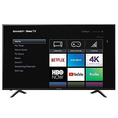 "Sharp 65"" Class 4K Ultra HD (2160P) Roku Smart LED TV 65Q7300U (Renewed)"