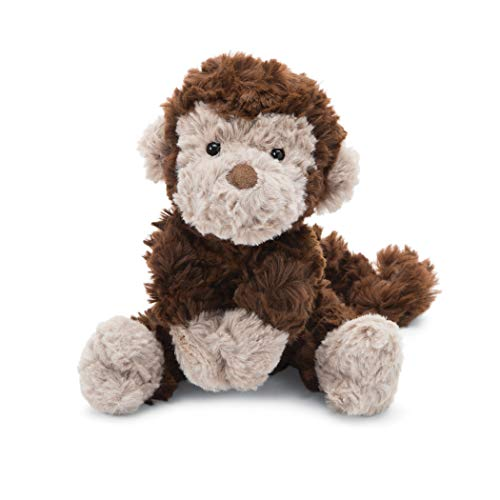 (Jellycat Squiggle Monkey Stuffed Animal, Small, 9 inches)