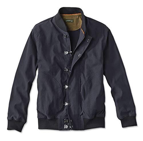 Orvis Men's WWII Naval Deck Jacket, Large Navy for sale  Delivered anywhere in USA