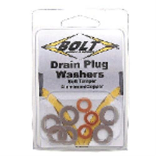- Bolt Drain Plug Sealing Washer Honda Kit (9 Pack/Assorted)