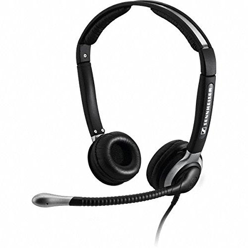 Sennheiser CC 520 Binaural Headset with Ultra Noise-Canceling Microphone (Certified (Corded Headset Amplifier)