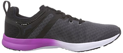Puma Pulse XT Core, Damen Hallenschuhe Periscope/Black/White/Purple Cactus Flower