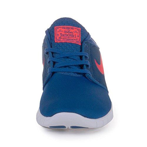 Barato Liquidación Nike Zapatos De Skate Stefan Janoski Max Azul / Blanco Con Mastercard Costo de envío gratis epSU9MQvW
