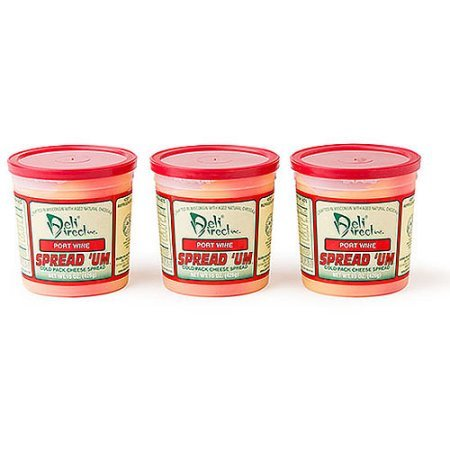 Wisconsin Cheese Spread - Port Wine (3 Pack of 15oz. Each Containers) ()