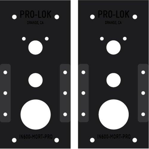 Pro-Lok Kaba 8100 Series//E-Plex 5086 Mortise PRO Template Set