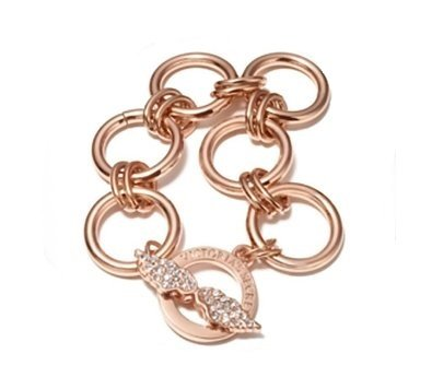 41ddec7700b80 Victoria's Secret VS Gold Chrystal Wing Bracelet Exclusive Limited ...
