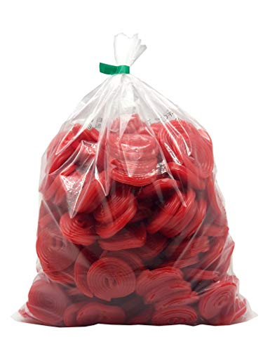 Gerrit Broadway Strawberry Licorice Wheels 4.4LB Bulk Bag