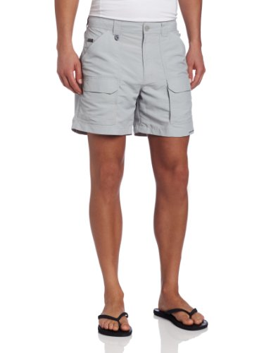 Columbia Men's Permit II Short, 36x6, Cool Grey