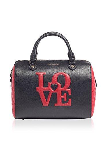 Love Moschino Borsa A Mano Nero/Rosso