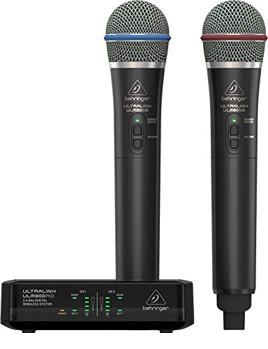 Microphone Wireless 900mhz (Behringer Wireless Microphone System (ULM302MIC))