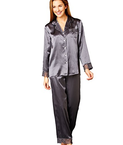 956d9e2a7a Galleon - Julianna Rae Sleep-In Women s 100% Silk Pajama