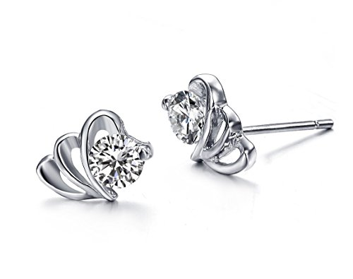 Aegean Jewelry Titanium Ladys Charming Stud Earring with a Gift Box and a FREE Small Gift
