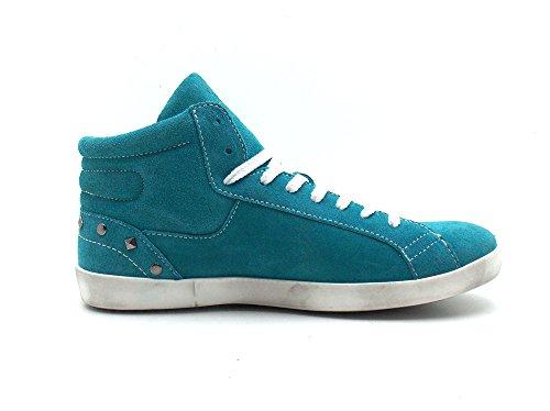 Vero Italy Blu Donna Di Scarpe Sneaker blu Cuoio fgxrnBf