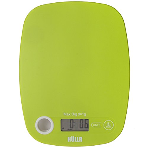 HULLR Multifunction Digital Kitchen Food Scale (Green)