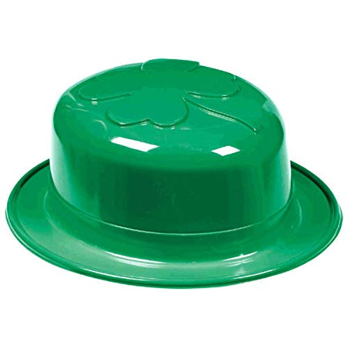 (St. Patrick's Day Green Plastic Derby Hat   Party Accessory, 36 Ct)