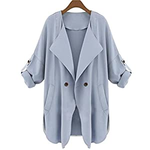 Womens Autumn Long Sleeve Cardigan Top Coat Jacket by TOPUNDER