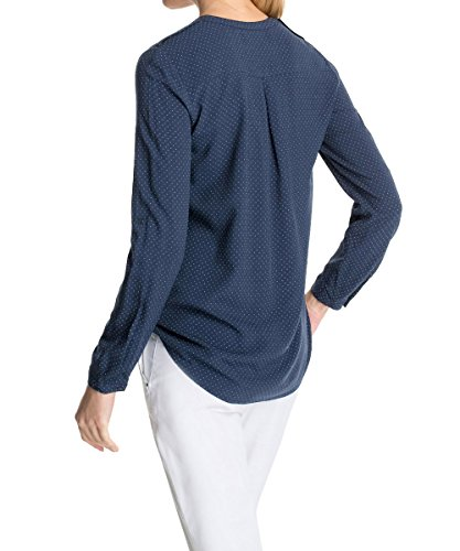 Manches Chemise Cinder Esprit Taille Normale Femme 995EE1F901 Longues Blue Bleu pFxPqBx