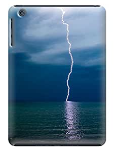 LarryToliver Charming Simple Lightning Background image ipad mini Case Cover #5