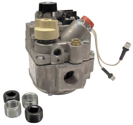 Gas Valve, Slow Opening, 100, 000 BtuH ()