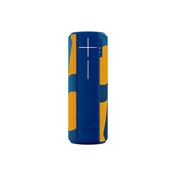 Enceinte MEGABOOM McLaren Sans fil/Bluetooth (Étanche et résistante aux chocs) - MCL33 - Bleu/Orange 1