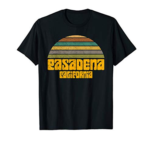 BACK TO SCHOOL VINTAGE 70s 80s STYLE PASADENA CA Distressed  T-Shirt]()