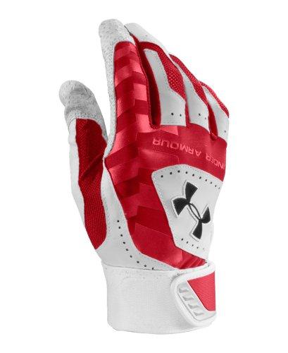 Under Armour Leather Batting Glove - 5