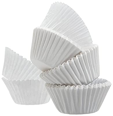 White Standard Size Cupcake Paper Baking Cup Liners