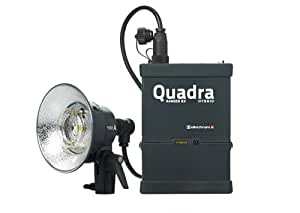 Elinchrom EL 10402.1 Ranger Quadra Hybrid Li-Ion Standard A with 1 Head (Black)