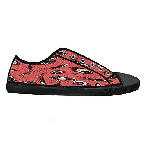 Dalliy augen muster Mens Canvas shoes Schuhe Lace-up High-top Sneakers Segeltuchschuhe Leinwand-Schuh-Turnschuhe C